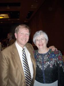 Larry & Fran at gala